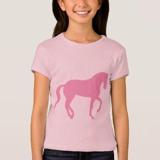Piaffe Horse (pink) T-Shirt