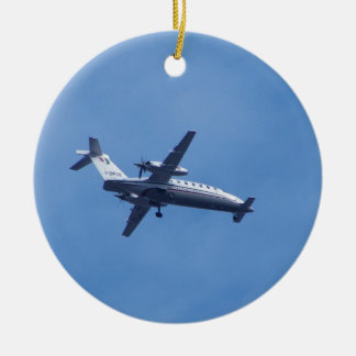 Piaggio P180 Aircraft Christmas Ornament