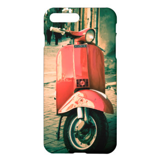 Piaggio Scooter Italy Red iPhone 7+ Case