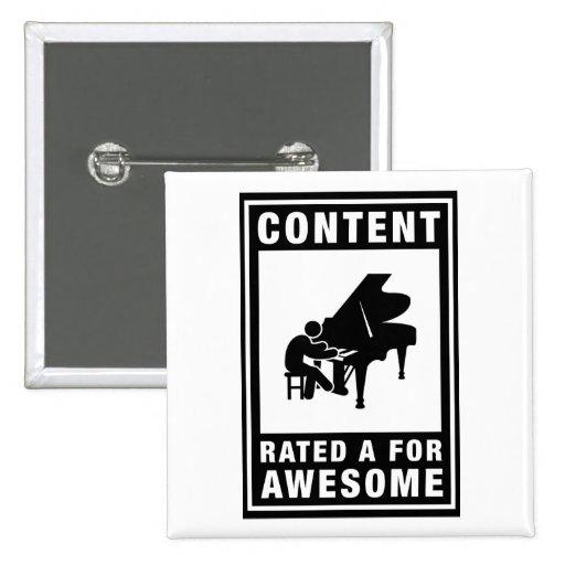 Pianist Button