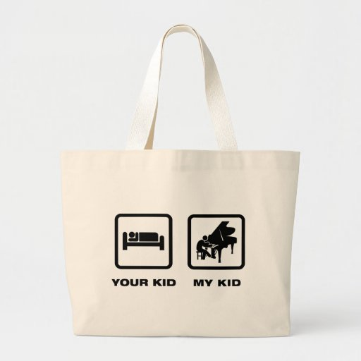 Pianist Canvas Bags