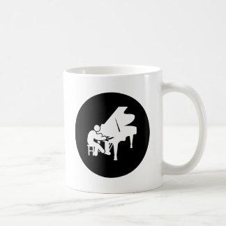 Pianist Basic White Mug