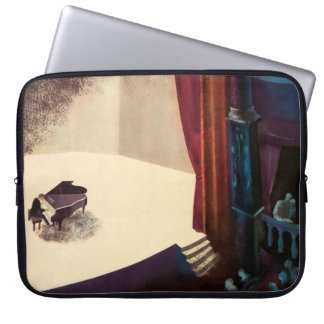 Pianist Concert Hall Piano Player Music Instrument Laptop Sleeve