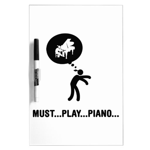 Pianist Dry Erase Whiteboards