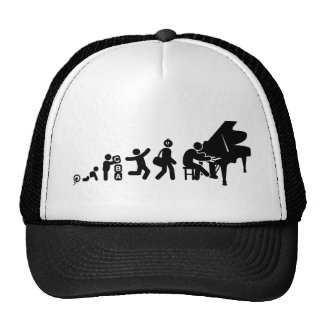Pianist Mesh Hats