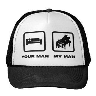 Pianist Mesh Hat