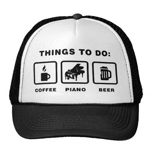 Pianist Hat