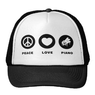 Pianist Trucker Hats