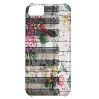 pianist keyboard girly vintage music iPhone 5C case