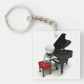 Pianist Keychain