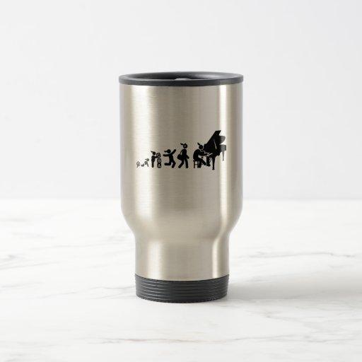 Pianist Coffee Mugs