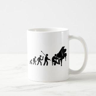 Pianist Classic White Coffee Mug