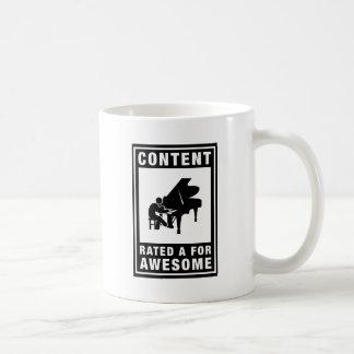 Pianist Coffee Mug