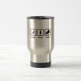 Pianist 15 Oz Stainless Steel Travel Mug