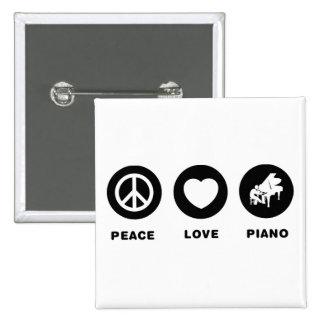 Pianist Pinback Button