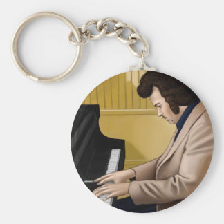 Pianist pious the 70: s Jan say Eenie Norlin Key Chain