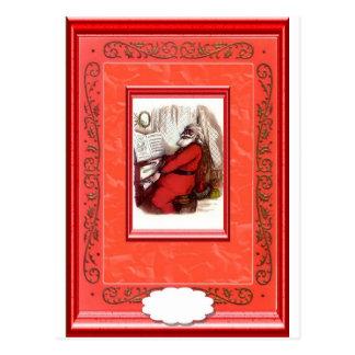 Pianist Santa Postcard