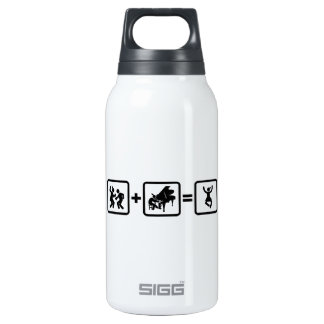 Pianist 10 Oz Insulated SIGG Thermos Water Bottle