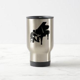 Pianist Stainless Steel Travel Mug
