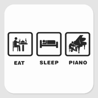 Pianist Stickers