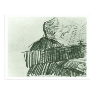 Pianist, Vincent van Gogh Postcard
