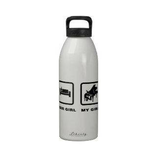 Pianist Water Bottles