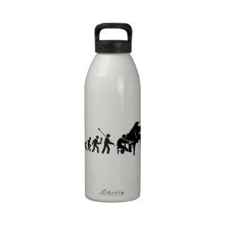Pianist Reusable Water Bottle