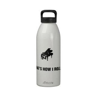 Pianist Reusable Water Bottles