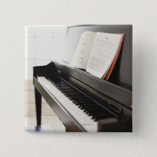 Piano 15 Cm Square Badge