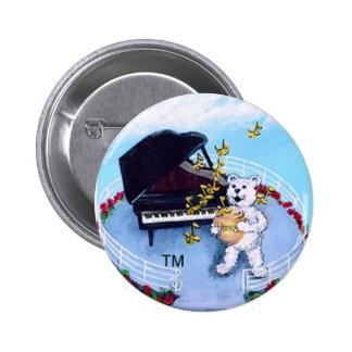 Piano Adventure Bears Button