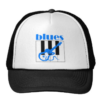 Piano and guitar blues cap