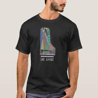 Piano Art with Luke Davids Text T-Shirt