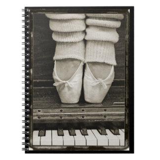 Piano Ballet Duet notebook
