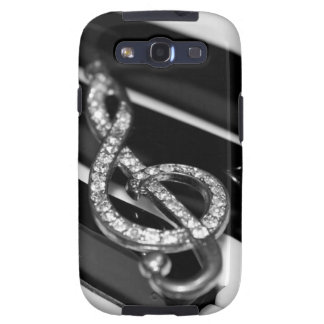 Piano Bar with G-clef Samsung Galaxy SIII Covers