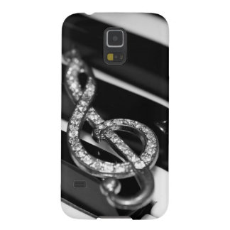 Piano Bar with G-clef Galaxy S5 Case