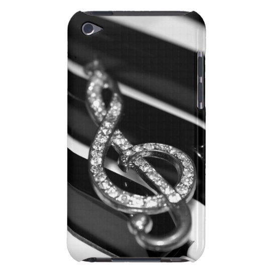 Piano Bar with Gclef for ipod iPod Touch Case-Mate Case