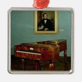 Piano belonging to Franz Peter Schubert Christmas Ornament