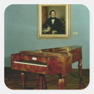Piano belonging to Franz Peter Schubert Sticker