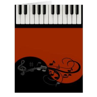 Piano Big Greeting Card
