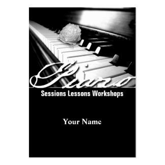 Piano - Business-, Schedule Card Business Cards