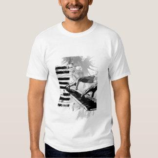 piano classical music tshirt