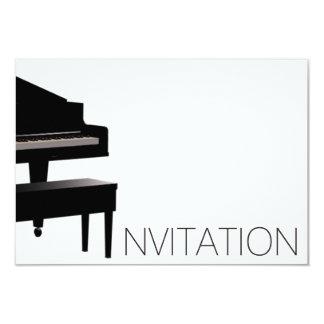 Piano Concert Festival Invitation Vip Invitation
