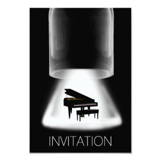 Piano Concert Festival Music Vip Invitation
