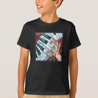 PIANO Crazy Fingers Shirts