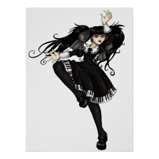 Piano Dance Posters