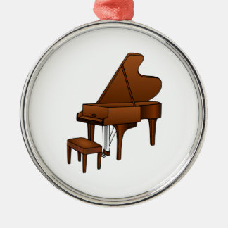 Piano Christmas Ornaments