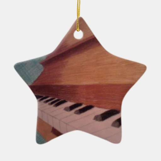 piano christmas tree ornament