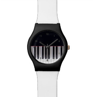 Piano Designer Watch by Leslie Harlow.
