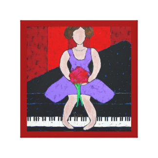 piano diva canvas pring gallery wrapped canvas