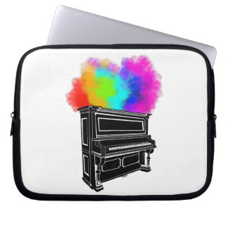 Piano Explosion Laptop Sleeve
